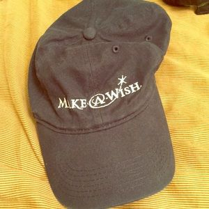Make A Wish navy hat